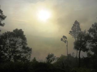 Sunrise di Sikunir